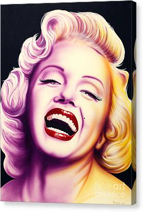 Norma Jean Canvas Print by Bruce Carter