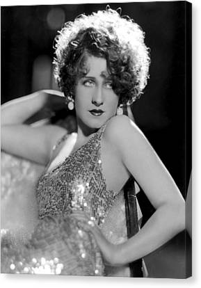 Hands Behind Head Canvas Print - Norma Shearer, 1931 by Everett