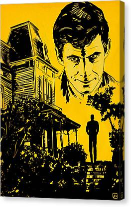 Norman Bates Psycho Canvas Print