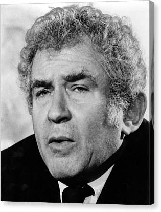 Norman Mailer, Early 1980s Canvas Print