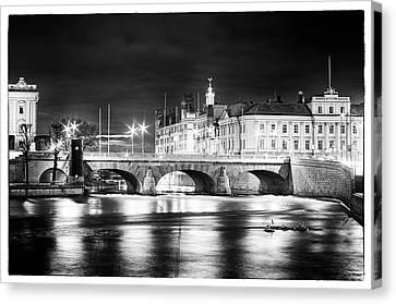 Norrbro Bridge Canvas Print by Matthias Siewert