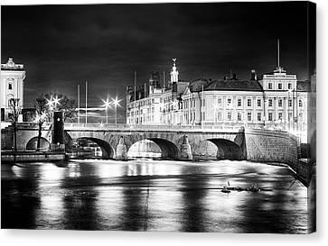Norrbro Stockholm Canvas Print by Matthias Siewert