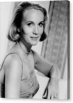 North By Northwest, Eva Marie Saint Canvas Print by Everett