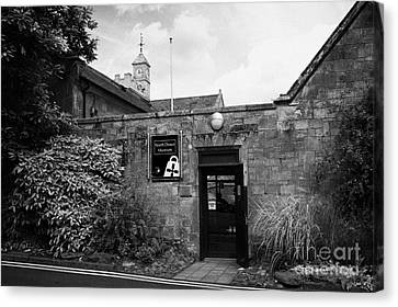 North Down Museum And Heritage Centre In Bangor Castle Now The Town Hall Canvas Print by Joe Fox