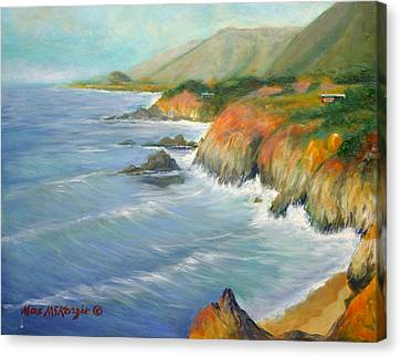 North Of Big Sur Canvas Print by Max Mckenzie