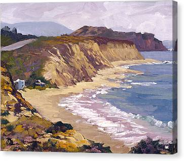 North Of Crystal Cove Canvas Print