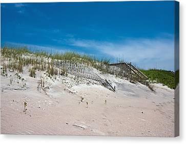 North Topsail Dunes Canvas Print