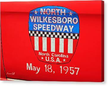 North Wilkesboro Speedway Canvas Print by Suzanne Gaff