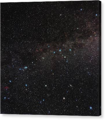 Northern Milky Way Canvas Print by Eckhard Slawik