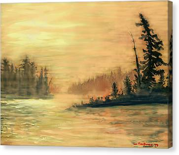 Northern Ontario Summer Morning Canvas Print