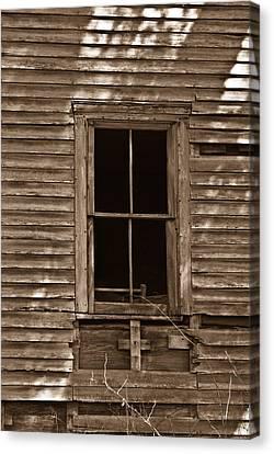 Nostalgic Window Canvas Print by Douglas Barnett