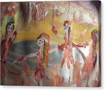 Not Forgotten Ballet Canvas Print by Judith Desrosiers