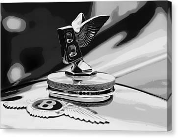 Nothin' Like A Bentley Canvas Print by Deborah  Crew-Johnson
