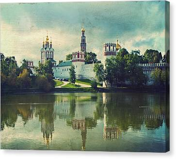 Novodevichy Convent. Moscow Russia Canvas Print by Juli Scalzi