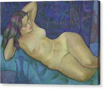 Nu 15 Canvas Print by Leonid Petrushin