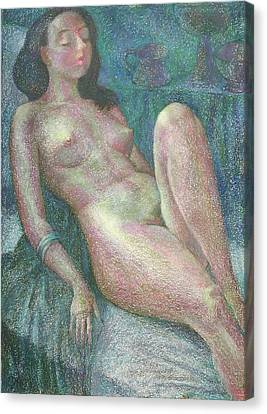 Nu 54 Canvas Print by Leonid Petrushin