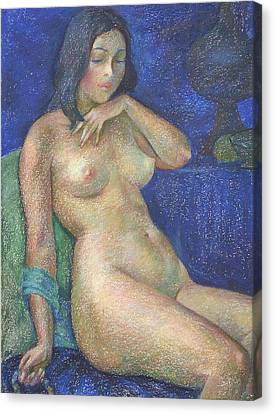 Nu 68 Canvas Print by Leonid Petrushin