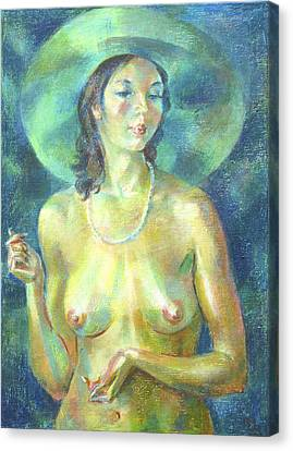 Nu 89 Canvas Print by Leonid Petrushin