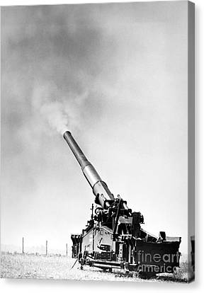 Nuclear Artillery, 1950s Canvas Print by Granger