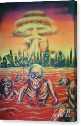 Nuclear Family Canvas Print by Matt Detmer