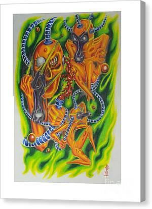 Nuclear Scavengers Canvas Print by Matt Detmer