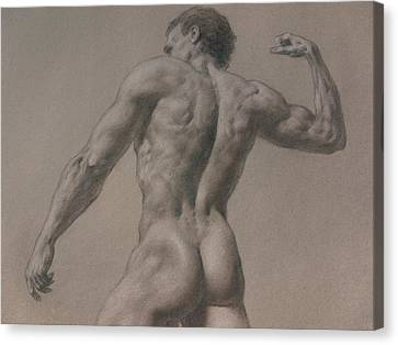 Nude - 8 A Canvas Print
