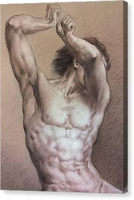 Nude 9 A Canvas Print
