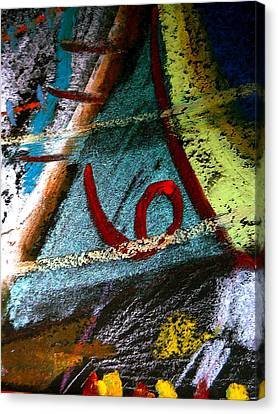 Number Six Canvas Print by Clarity Artists