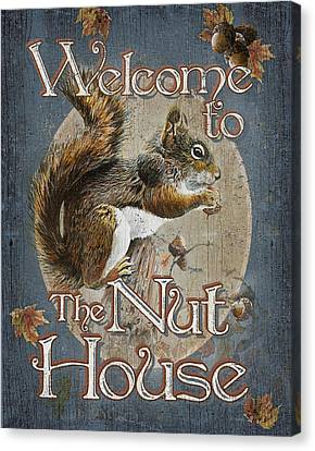 Nut House Canvas Print by JQ Licensing