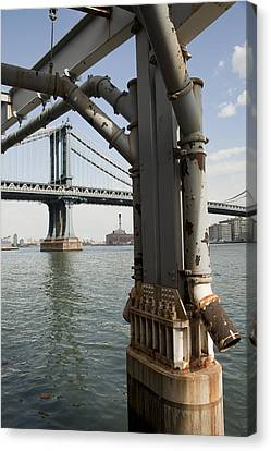 Ny Composition 4 Canvas Print by Art Ferrier