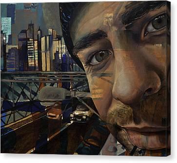 Ny Tony Canvas Print by Jami Childers