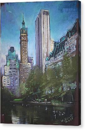 Nyc Central Park 2 Canvas Print