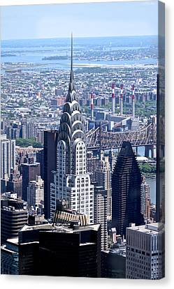 NYC Canvas Print by Josef Pittner