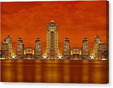 Nyc Nobody Saw Yet Canvas Print by Val Black Russian Tourchin