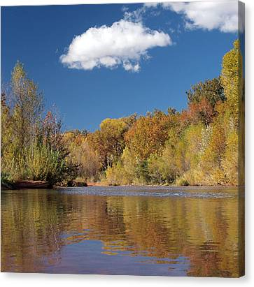 Oak Creek Reflection Canvas Print by Joshua House