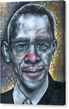 Obama's Circus Canvas Print by Robert  Nelson