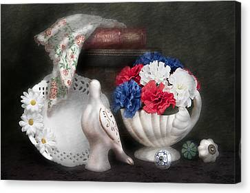 Objects In Still Life Canvas Print