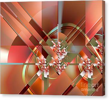 Objet Dart Three Canvas Print by Michelle H