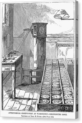 Observatory: Chronometer Canvas Print by Granger