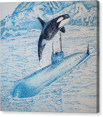 Observing Nature A Canvas Print by John Fierro