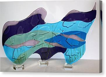 Ocean Canvas Print by Eleanor Brownridge