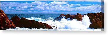 Ocean Surf Canvas Print by Phill Petrovic
