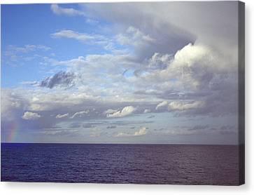Ocean View Canvas Print by Mark Greenberg