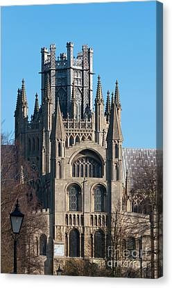 Canvas Print featuring the photograph Octagon Tower  by Andrew  Michael