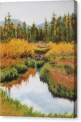 October Splendor Canvas Print