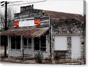Canvas Print featuring the photograph Odd Gallery by Joe Finney
