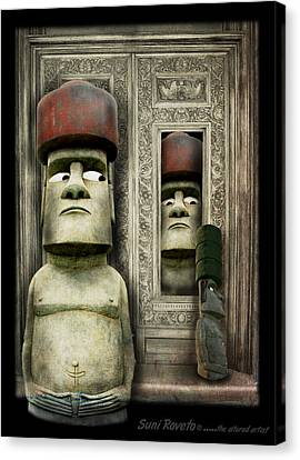 Odd Man Out Canvas Print by Suni Roveto