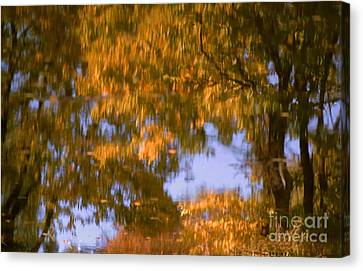 Ode To Monet Canvas Print by Janeen Wassink Searles