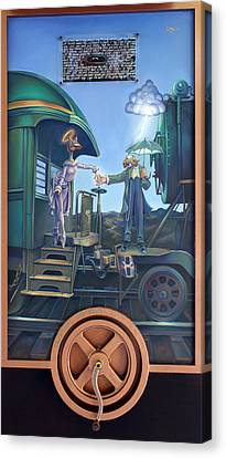 Of Thee I Sing The Body Electric Canvas Print by Patrick Anthony Pierson