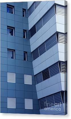 Office Building Canvas Print by Carlos Caetano